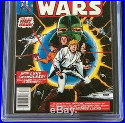 Star Wars #1 (1977) CGC 9.4 White Pg New Hope Part 1 Howard Chaykin Marvel