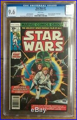 Star Wars #1 1977 White Pages CGC 9.6 0902494026