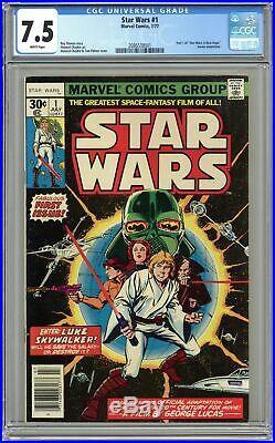 Star Wars #1 1st Printing CGC 7.5 1977 2086538001