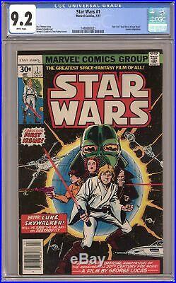 Star Wars #1 1st Printing CGC 9.2 1977 1488680021