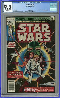 Star Wars #1 1st Printing CGC 9.2 1977 2059937005