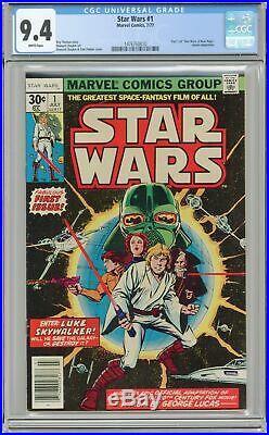 Star Wars #1 1st Printing CGC 9.4 1977 1476760010
