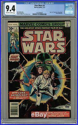 Star Wars #1 1st Printing CGC 9.4 1977 1622560007