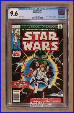 Star Wars #1 1st Printing CGC 9.6 1977 1495419004