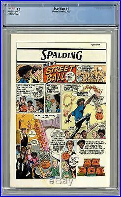 Star Wars #1 1st Printing CGC 9.6 1977 2089920021