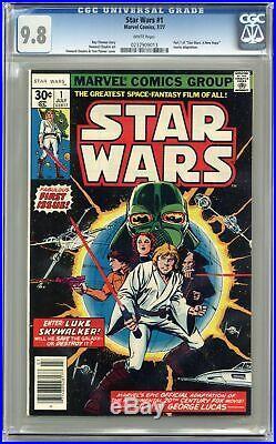 Star Wars #1 1st Printing CGC 9.8 1977 0237909013