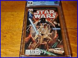 Star Wars #1 1st print 150 ALex Ross Homage Color Variant CGC 9.8 NM+/M
