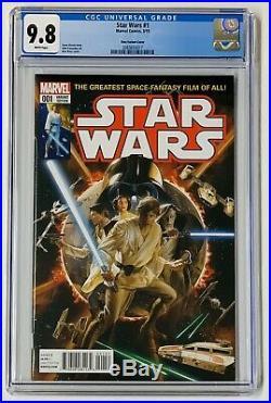 Star Wars #1 1st print 150 Alex Ross Homage Color Variant CGC 9.8