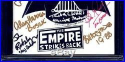 Star Wars #1 BLANK CGC SS 9.8 signed x11 SKETCH Mayhew Watts Daniels Glover