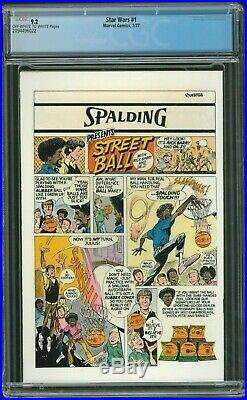 Star Wars 1 CGC 9.2 (First ISSUE Comic Appearance 1977) NM