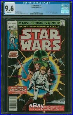Star Wars #1 CGC 9.6 1st Marvel series 1977 New Hope 1st print