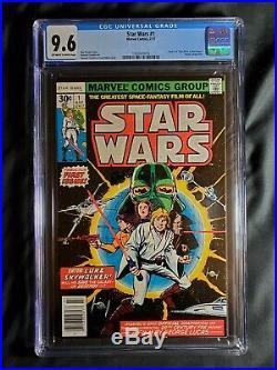 Star Wars #1 CGC 9.6 (Jul 1977, Marvel)