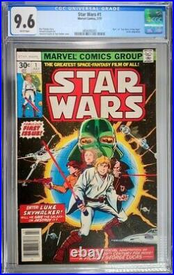 Star Wars #1 CGC 9.6 Key Issue Freshly Graded