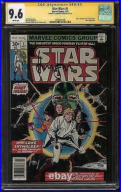 Star Wars #1 CGC 9.6 (W) Signed By Harrison Ford