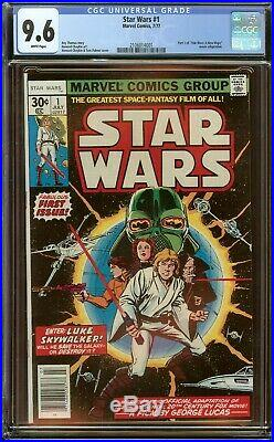 Star Wars #1 CGC 9.6 (White Pages) 1977 1st Print