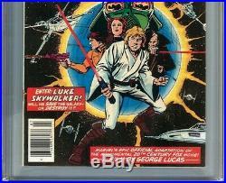 Star Wars #1 CGC 9.8 1st Luke Skywalker Leia Obi-Wan Vader Han Solo Chewbacca