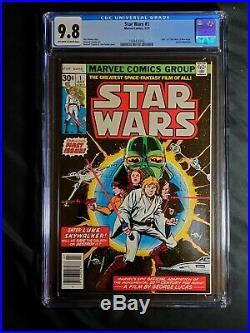 Star Wars #1 CGC 9.8 (Jul 1977, Marvel)