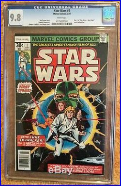 Star Wars #1 CGC 9.8 NM/MT Newsstand Issue. Beautiful 1st appearance