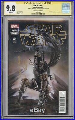 Star Wars #1 CGC 9.8 Signed by Jeremy Bulloch (Boba Fett Mandalorian)