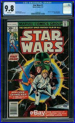 Star Wars 1 CGC 9.8 White Pages