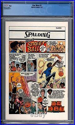 Star Wars 1 CGC Graded 9.6 NM+ Marvel Comics 1977 1st Print