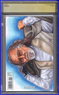 Star Wars #1 CGC SS 9.8 Stan Lee signed JEDI quote remark with full sketch VHTF