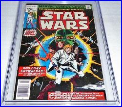 Star Wars #1 CGC Universal Grade Comic 9.8 Part 1 of Star Wars A New Hope ADPT
