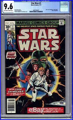 Star Wars #1 Cgc 9.6 (1977 Marvel Comics) First Printing- A New Hope! No Reserve