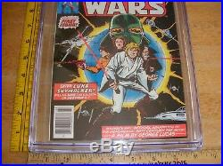Star Wars #1 Comic 1977 CGC 8.5 OW Howard Chaykin art CLEAN