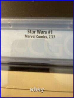 Star Wars #1 First Printing Original 1977 CGC 9.8 White Pages MARVEL COMICSGROUP