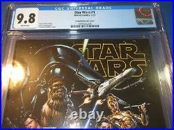 Star Wars #1 J Scott Campbell Variant CGC 9.8 NM/M Gorgeous Gem Wow