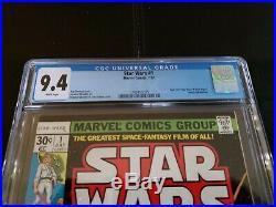 Star Wars #1 (Jul 1977, Marvel) 9.4 CGC