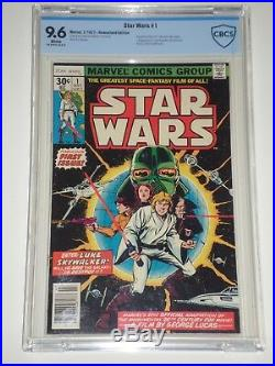 Star Wars #1 (Jul 1977, Marvel) CBCS 9.6 (Similar to CGC) 1st Comics Adaptation