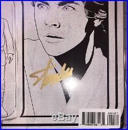 Star Wars #1 Luke Action Figure Sketch Variant CGC 9.6 Marvel 2015 C2E2 Stan Lee