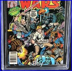 Star Wars #2 (1977) CGC 9.2 White Pgs Han Solo Chewbacca Skywalker Marvel