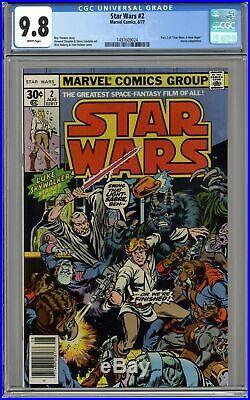 Star Wars #2 1st Printing CGC 9.8 1977 1497609024