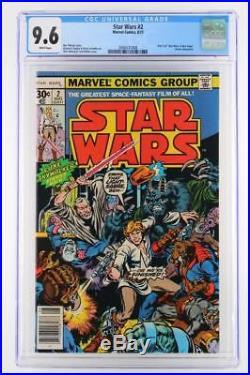 Star Wars #2 CGC 9.6 NM+ Marvel 1977 1st App Han Solo & Chewbacca