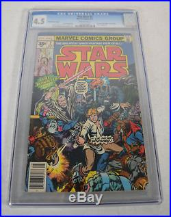 Star Wars 2 Marvel 1977 CGC 4.5 35 Cent Variant 1st Print