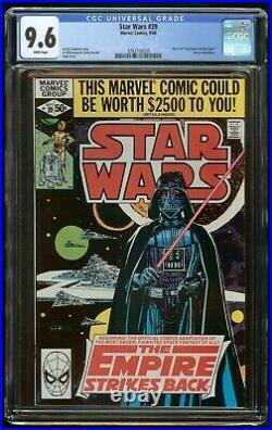 Star Wars #39 (1980) Cgc 9.6 Darth Vader White Pages