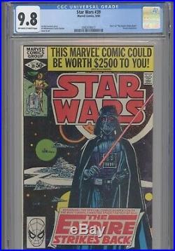 Star Wars #39 CGC 9.8 oww 1980 Marvel Part 1 Empire Strikes Back NEW Frame