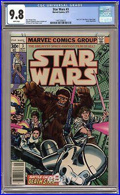 Star Wars #3 1st Printing CGC 9.8 1977 1497208010