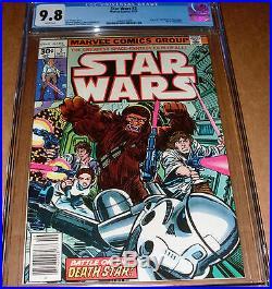 Star Wars #3 CGC 9.8 Marvel 1977 1st print Princess Leia Han Solo Luke Skywalker
