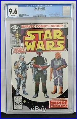 Star Wars #42 (1980) CGC Graded 9.6 Boba Fett Cover Marvel Comics