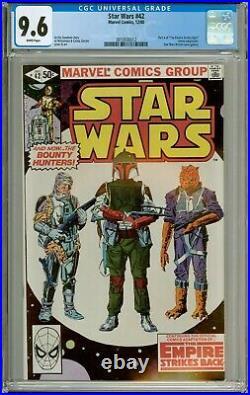Star Wars #42 1980 Marvel 1st Emperor, Boba Fett, Bossk, Dengar, IG-88 CGC 9.6