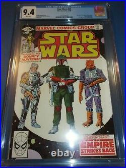 Star Wars #42 Bronze age 1st Boba Fett Huge Key 1st Yoda CGC 9.4 NM Beauty Wow