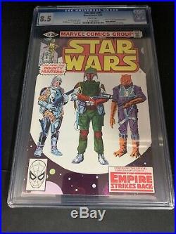 Star Wars #42 CGC 8.5 First Boba Fett Bounty Hunters Mandalorian