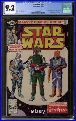Star Wars #42 CGC 9.2 (W) Part 4 The Empire Strikes Back Bobba Fett