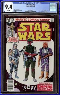 Star Wars # 42 CGC 9.4 White (Marvel, 1980) 1st appearance of Boba Fett