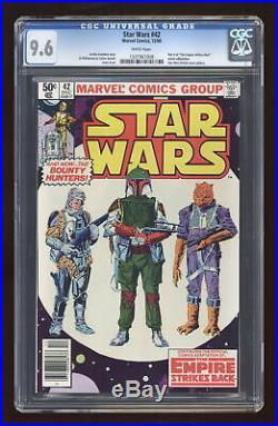 Star Wars #42 CGC 9.6 1980 1337967008
