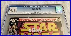 Star Wars 42 CGC 9.6 WP Bronze Age Key Marvel 1st Boba Fett (Not CBCS 9.8)